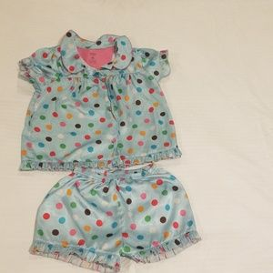 Girls silky smooth pajamas 4T